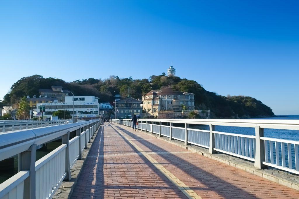 江ノ島に続く旅の橋を渡ろう